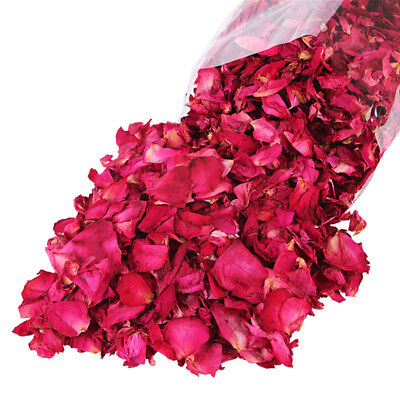 100g Dried Rose Petals Natural Dry Flower Petal Spa Whitening ShowerBathToolS GT