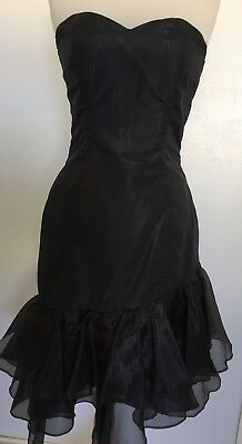 Vintage 80s PROM dress COCKTAIL party HENS bridesmaid FORMAL salsa