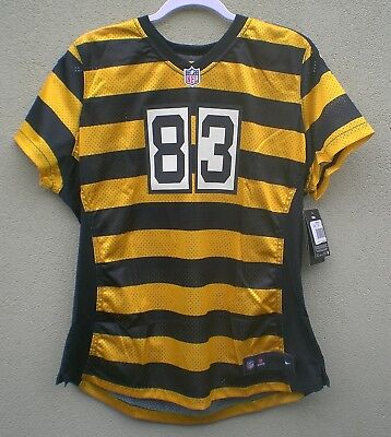 b041d2025 Nike Heath MIller BumbleBee Pittsburgh Steelers Womens Jersey  100 - SZ 2XL