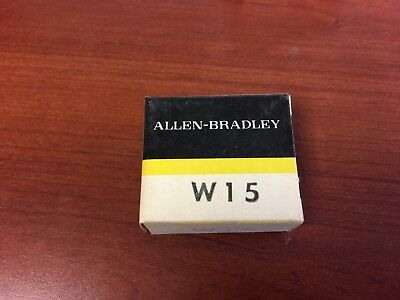 Allen Bradley W15 Heater Element for Thermal Overload Relays New In Box