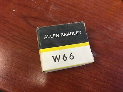 Allen Bradley W66 Heater Element for Thermal Overload Relays New In Box