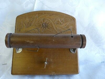 Great Fun Vintage Musical Toilet Paper Roller Holder Cuendet Swiss Movement