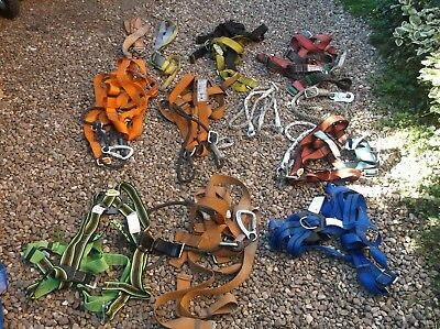 Job Lot of Safety Harnesses and equipment (116M)