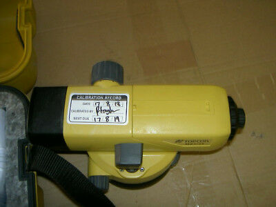 TopCon AT-B4 Automatic Level complete in case only used few times