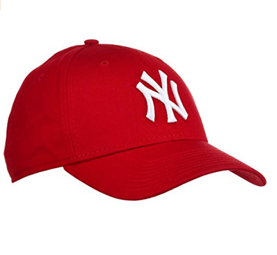 """New Era 9Forty Classic New York Yankees  Red Curve Cap For Mens """"BNWT'"""