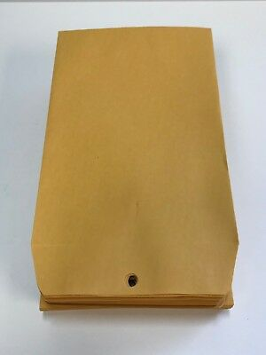 Quality Park Clasp Envelope, 6 x 9, 28lb, Brown Kraft, 100 Count (37855)