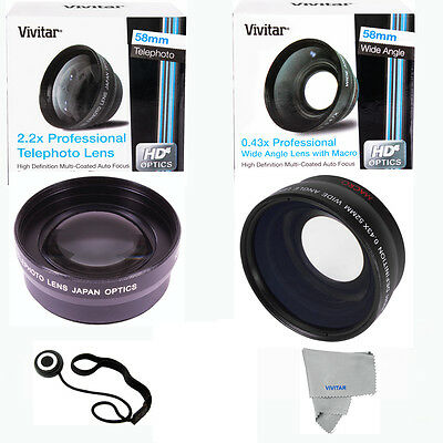 Telephoto Zoom Lens + Hd Wide Angle Lens + Macro Lens For Nikon Coolpix P1000
