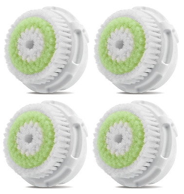 4 Acne Sensitive Replacement Brush Heads For Mia, Mia2, Aria And Pro Plus