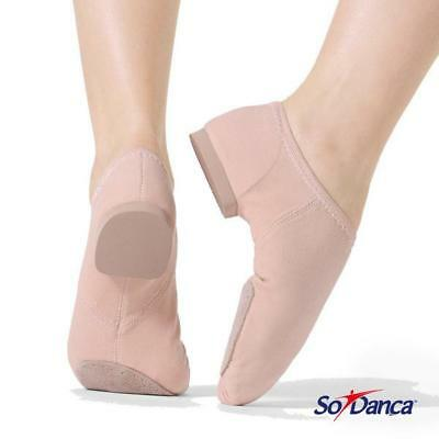 SALE - So Danca Canvas Stretch Jazz Split Sole Shoe - 20% OFF