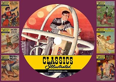 Classics illustrated Comic Collection on DVD Rom