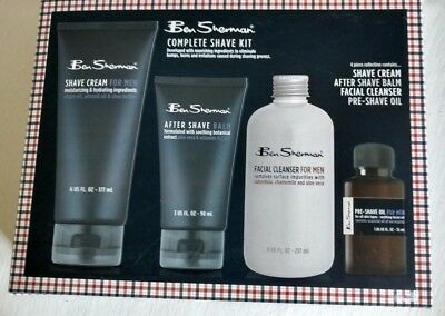 Ben Sherman 4 piece collection complete shave kit
