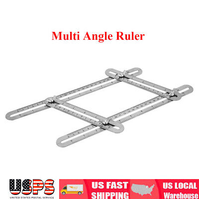 Four Side Measuring Tool Multi Angle Ruler Template Tool Angle Finder Protractor