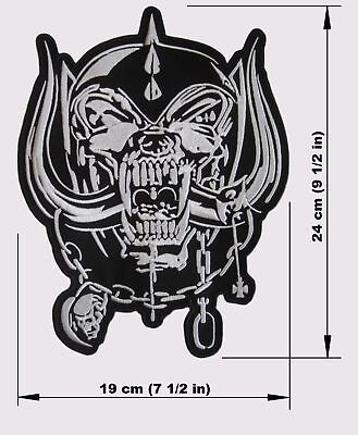 MOTORHEAD Warpig BACK PATCH embroidered NEW