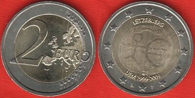 "Luxembourg 2 euro 2009 ""EMU - Introduction of the Euro"" BiMetallic UNC"
