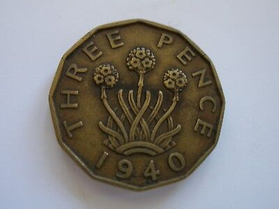1937 - 1952 George Vi Brass Threepences - Choose Your Date - Uk Post Free