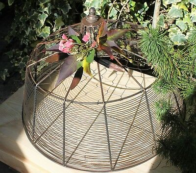 Birdcage Ceiling Light Rustic  Lampshade Giant African Style Pendant Shade