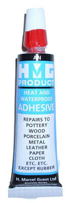 HMG FLETCHING GLUE, perfect for gluing feathers to wooden shafts