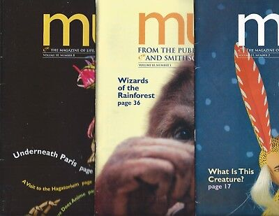 Lot of 3 Muse Magazine for Children Age 10 and Up from Cricket Group Ladybug