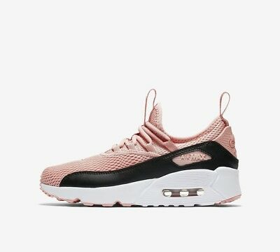 Nike Air Max 90 EZ (GS) AH5212-600 Coral Stardust Black White Youth Girl's Shoes