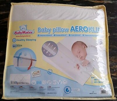 Baby Toddler Wedge Pillow Helps With Colds Breathable Machine Wash Anti-Allergy
