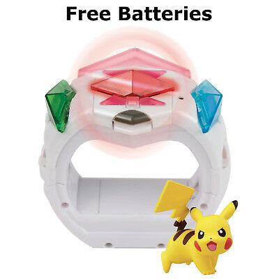 Pokemon Z-Ring Crystal Bracelet Set With Pikachu For Sun And Moon Tomy Game Toy