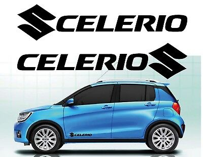 CELERIO - for SUZUKI - 2 x DOOR - VINYL CAR DECAL STICKER ADHESIVE - 300mm long
