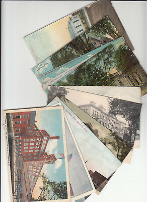 Lot of 11 Vintage Era Postcards Lawrence MASS Massachusetts Essex County MA MASS