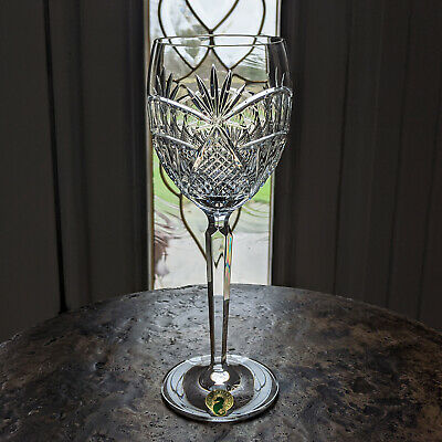 "Waterford Crystal New SEAHORSE Nouveau Goblet 8 1/2"" 9 Oz All Purpose / Wine New"