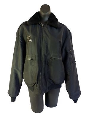 QSC Audio Preowned Medium Weight Insulated Jacket Vintage Coat Large