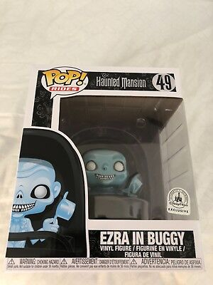 Sold Out Funko Pop! Ezra In Doom Buggy Haunted Mansion Disney Exclusive #49