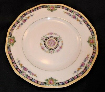 "HAVILAND LIMOGES RARE Pattern #H483-- 7 3/8""  12- sided Luncheon Plate"