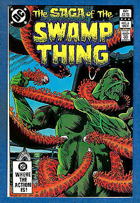 SWAMP THING # 6 (2nd Series) - DC 1982  (fn-vf)