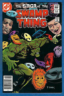 SWAMP THING # 16 (2nd Series) - DC 1983  (fn-vf)
