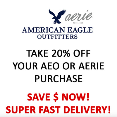 American Eagle Ae Coupon 25 Off Receive Today 2 99 Picclick