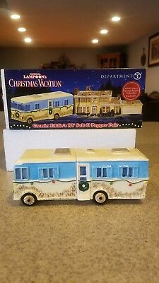 Department 56 uncle eddys rv, salt and pepper, new!!