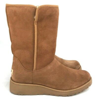 588bac78fd6 UGG WOMEN'S KYRA Wedge Suede Boot - $159.90 | PicClick
