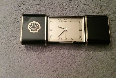 Shell Oil Company - Vintage Crew Issued Commemorative Clock