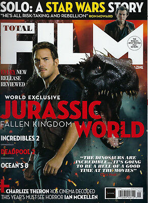 TOTAL FILM * June 2018 * Jurassic World, Oceans 8, Star Wars, Incredibles & MORE