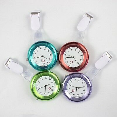 Nurse Watch Brooch Quartz Silicone Clip Tunic Pocket Fob Nursing Nurses Watch
