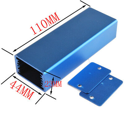 2pcs Aluminum Electronic Box Enclosure Case DIY -110*40*24(L*W*H); construction