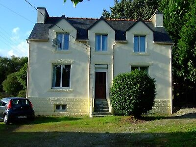 Three bedroom house in France, Brittany, Finistere 29540 . Fully Furnished