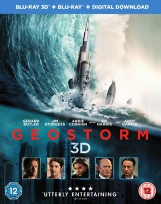 Geostorm 3D BLU RAY *NEW & SEALED*