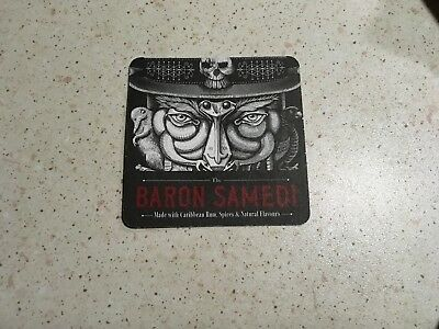 Collectable drink coasters 'BARON SAMEDI' - PERFECT CONDITION