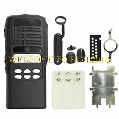 Black Limited-keypad Housing Case With Speaker & LCD Display For MOTOROLA HT1250