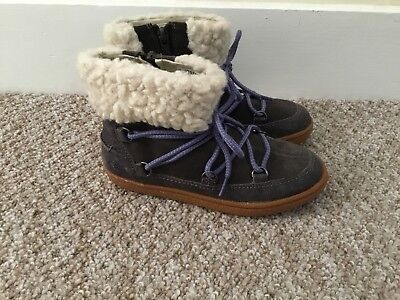 Clarks Girls Boots, Size 12 F, New
