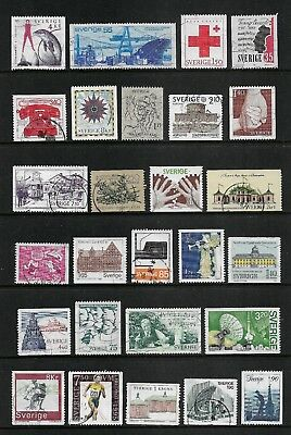SWEDEN mixed collection No.38, used