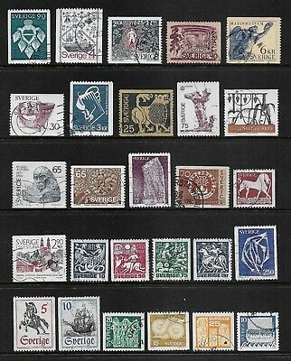 SWEDEN mixed collection No.40, used