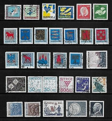 SWEDEN mixed collection No.42, used