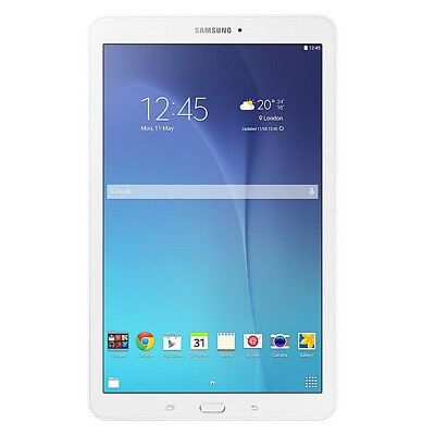 "Tablet Samsung Galaxy Tab E 8Gb 9.6"" T560 Solo Wifi Android Color Blanco White"