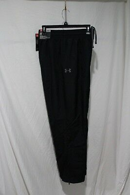 Under Armour Vitals Straight Leg Warm Up Pants - New With Tags 1239481 Black